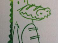 Attention je croc !