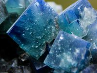 Fluorite with Galene and Quartz from Rogerley mine, Durham, England