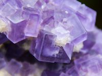 Fluorite (Fluorine) with Baryte and Quartz from Berbes, Spain (Espagne) (size: Museum)