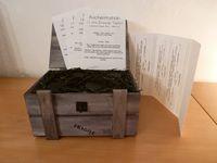 La box, les feuillets et le récapitulatif