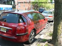 Peugeot 407 SW in the USA