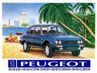 Vintage Peugeot ad in Nigeria / the Peugeot's factory in Nigeria / The all new Peugeot 301 in Marocco