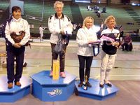 Les podiums dames