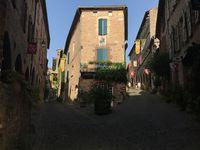 WE à Cordes sur ciel élu plus beau village de France en 2014. Juillet 2017