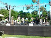 Eriu et Gaels, le groupe local a ouvert le Festival./ Doolin', de la très bonne musique irlandaise avec un bohran de folie ! / Les Bodh'Aktan