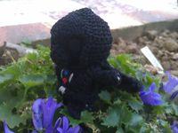 Amigurumi : Dark Vador fait au crochet