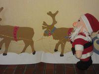 Père Noel fait au crochet