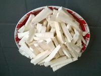 Frites de manioc au four