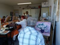 L'atelier peinture
