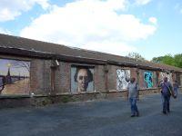 Du street art, au Fort d'Aubervilliers...