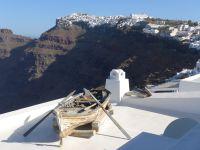 Une île grecque de l'été 2014 : Santorin