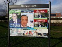 Avant / Après ou comment le PS et DLR recouvrent alternativement nos affiches mais jamais entre eux !