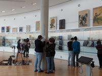 Les salles d'expositions , classées chronologiquement , et le film sur la bataille de la Somme .