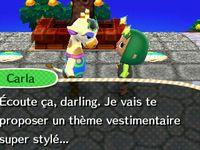 Carla la modeuse :