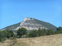 Je reviens sur la route principale au niveau de Rosans afin de rentrer peu après en Drôme.