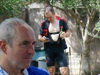 Quelle réception Bernard ! Ca c'est de l'arrosage de Vélo !!!