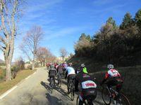On reprend le circuit en direction d'Aurel puis c'est la Drôme à Montbrun les Bains.