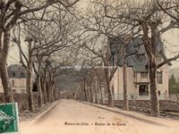 Avenue de la gare (1908-1909-1924) le tampon de la poste faisant foi ^^