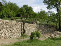 Aménagements d'accès par la création de soutènements à Lurs (Alpes-de-Haute-Provence)
