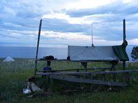 Bivouac au bord du Baïkal