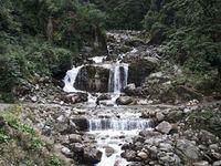 De Chyamche (1430 m) à Temong (2 650 m)