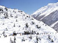 De Shree Kharka (4 100 m) à Manang (3 540 m)