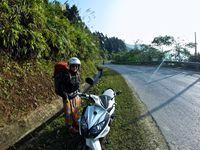 Rando à Sapa et scooter sur la bordure nord