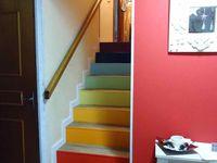Et hop! l'escalier!!!