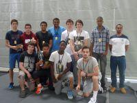Saison 2013/2014 Cadets région avec Nicolas Champions 1ère division
