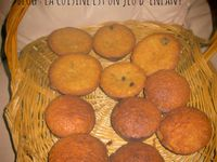 Muffin au raisins /Muffin au fruits confits