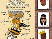 Super Market #3 EDITION HIP HOP
