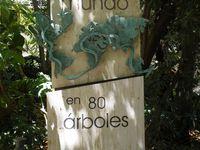 Le Jardin des plantes de Malaga qui conserve le plus vieil olivier de Malaga.
