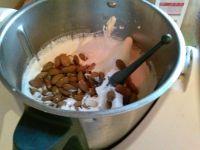 Panier gourmand fait maison à offrir pour noël, recette craquelés et nougat au thermomix
