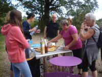 Lors de la Balade Gourmande du 5 septembre ....