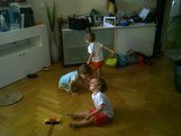 Découverte des espaces, des jeux et apprentissage du partage !