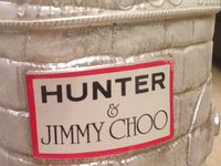 #jimmychoo #hunter , sac en patchwork de differents cuirs nobles