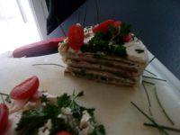 Recette de sandwich cake ou wrap cake