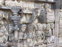 Borubudur, Candirejo et Merapi