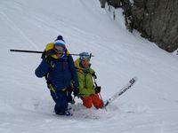 Belle sortie de ski entre copains.http://www.geromegualaguidechamonix.com