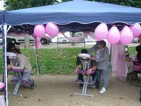 Séances de massage assis en bord de Marne