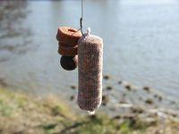 différentes étapes de réalisation d'un stick soluble pour une pêche de début de saison ( printemps )