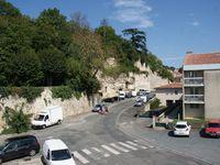 Rue du Château Féodal, rue de la Rochefoucault et le Pont des Sardines