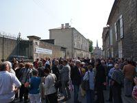 Après de nombreuses années de combat pour le maintien de la maison d'arrêt et la construction d'un nouveau centre de détention, les Fontenaisiens restent mobilisés comme ici en 2011.