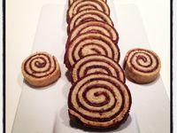 Mes petits sablés spirales chocolat noisette... Un régal !