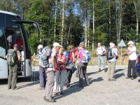 C'était le 25 septembre, avec le Schwarzwaldverein de Breisach, dans le Wiesental