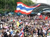Thailand protest in Bangkok