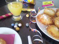 Beignets à l'Ananas de Mardi-Gras...