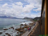 On prend le train de Capetown à Kalk bay