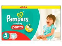 Les couches Baby Dry Panty de Pampers