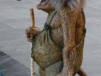 Nordkapp, un habitant local, un Troll... et nous. Et vouis nous y étions :-D